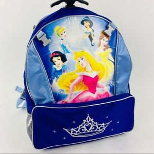 Disney Princesses Rolling Carry On Bagpack